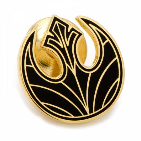 Star Wars Gold Rebel Symbol Lapel Pin