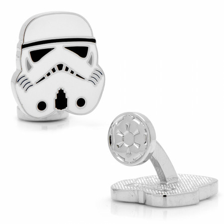 Star Wars Stormtrooper Helmet Cufflinks