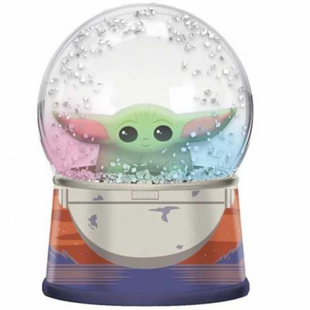 Star Wars The Mandalorian The Child Egg Pod Light Up Snow Globe