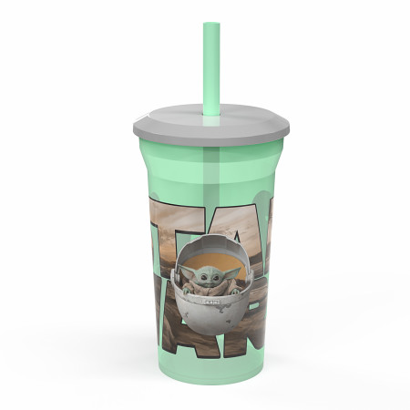 Star Wars The Mandalorian The Child 14oz Fun Sip Tumbler