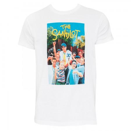 The Sandlot Men's White Movie Poster T-Shirt