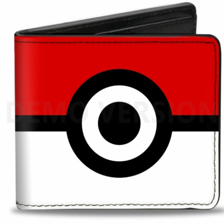 Pokemon Pokeball Wallet