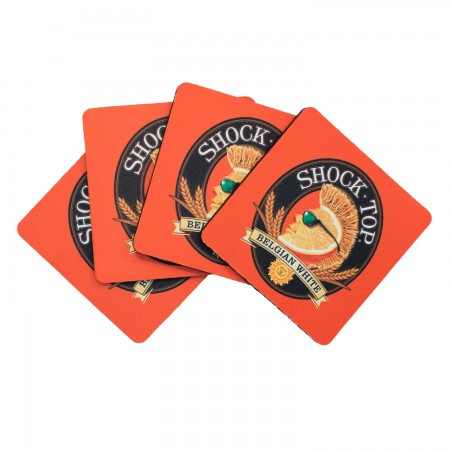 Shock Top Coaster Four Pack