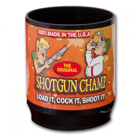 Shotgun Champ Spill Free Beer Dispenser