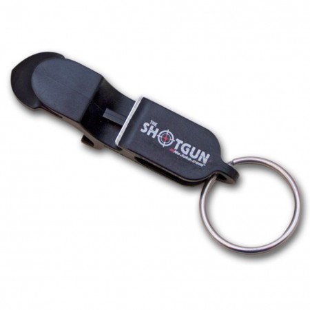 Beer Shotgun Keychain and Bottle Opener