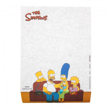 Simpsons Family Note Pad
