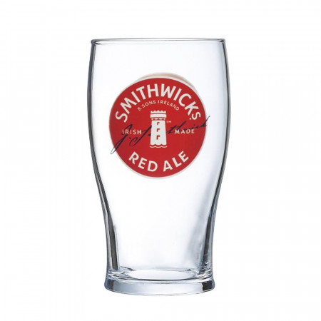 Smithwicks Pint Pub Glass