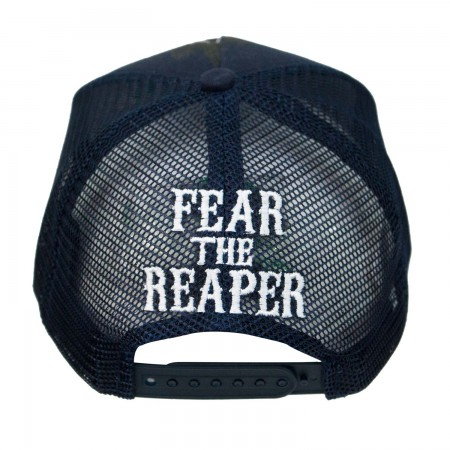 Sons Of Anarchy Fear The Reaper Snapback Mesh Hat