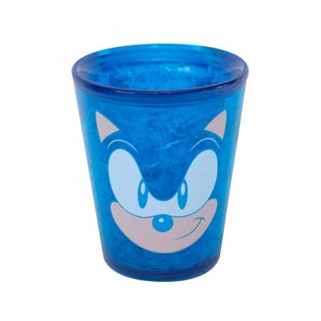 Sonic Character Blue Freezer Shot Glass