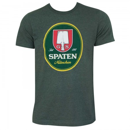 Spaten Logo Green Men's T-Shirt