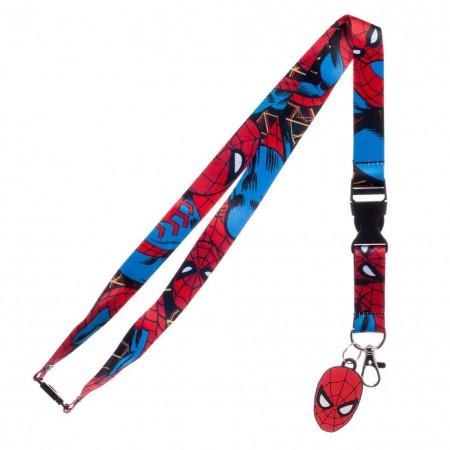 Spider-Man Comic Lanyard