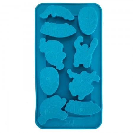 Spider-Man Superhero Blue Ice Mold