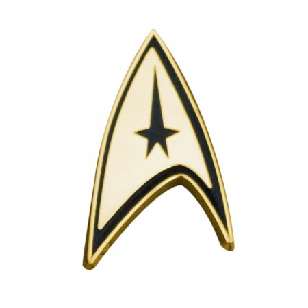 Star Trek Logo Gold Lapel Pin
