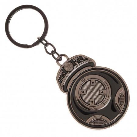 Star Wars Episode 8 BB 9E Metal Keychain