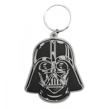Star Wars Rubber Darth Vader Keychain