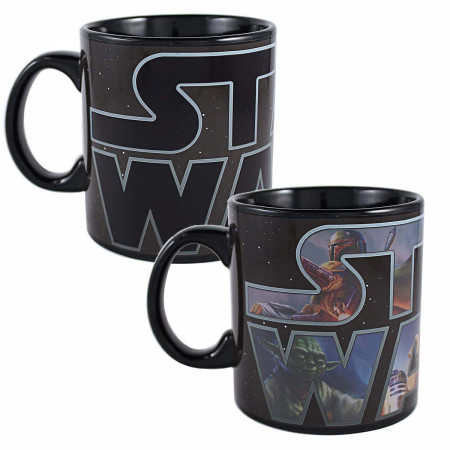 Star Wars Logo 20 Ounce Color Change Mug
