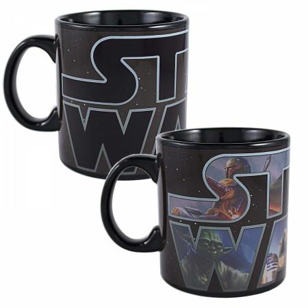 Star Wars Logo 20 Ounce Color Change Mug