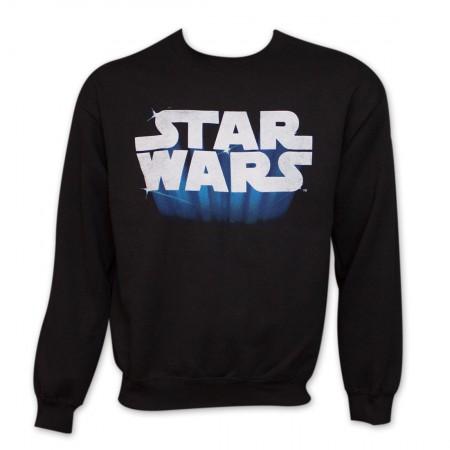 Star Wars Logo Crew Neck Sweat Shirt