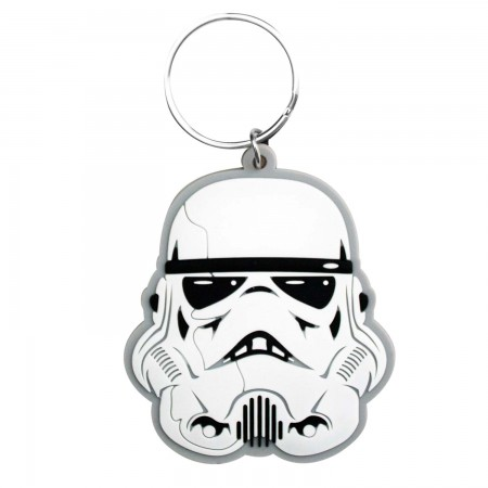 Star Wars Rubber Stormtrooper Keychain