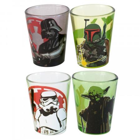 Star Wars Shot Glass 4-Pack
