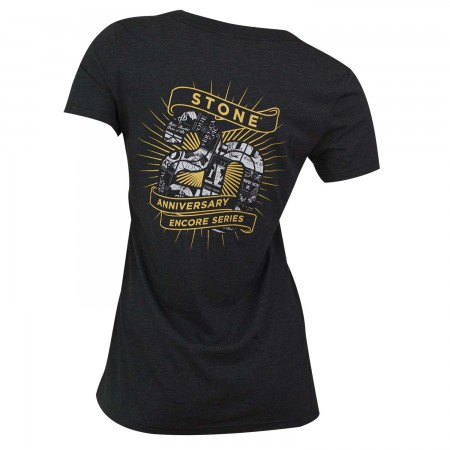 Stone Brewing Co. Women's Black V-Neck Encore T-Shirt