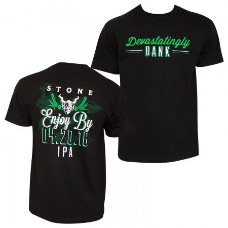 Stone Brewing Co. Enjoy By 4.20 Black Tee Shirt