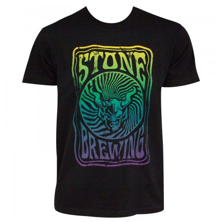Stone Brewing Co. Men's Black Groovy T-Shirt