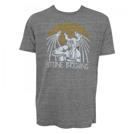 Stone Brewing Co. Men's Grey Archetype T-Shirt