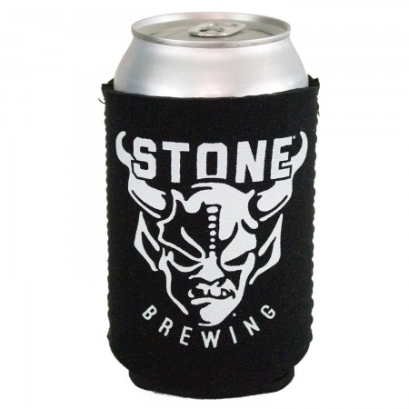 Stone Brewing Co. Logo Black Can Cooler