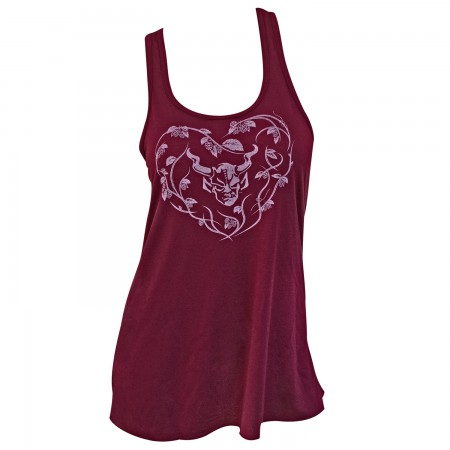 Stone Brewing Co. Women's Burgundy Girly Forevermore Tank Top