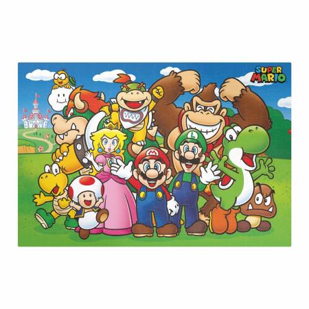 Nintendo Super Mario 250 Piece Jigsaw Puzzle