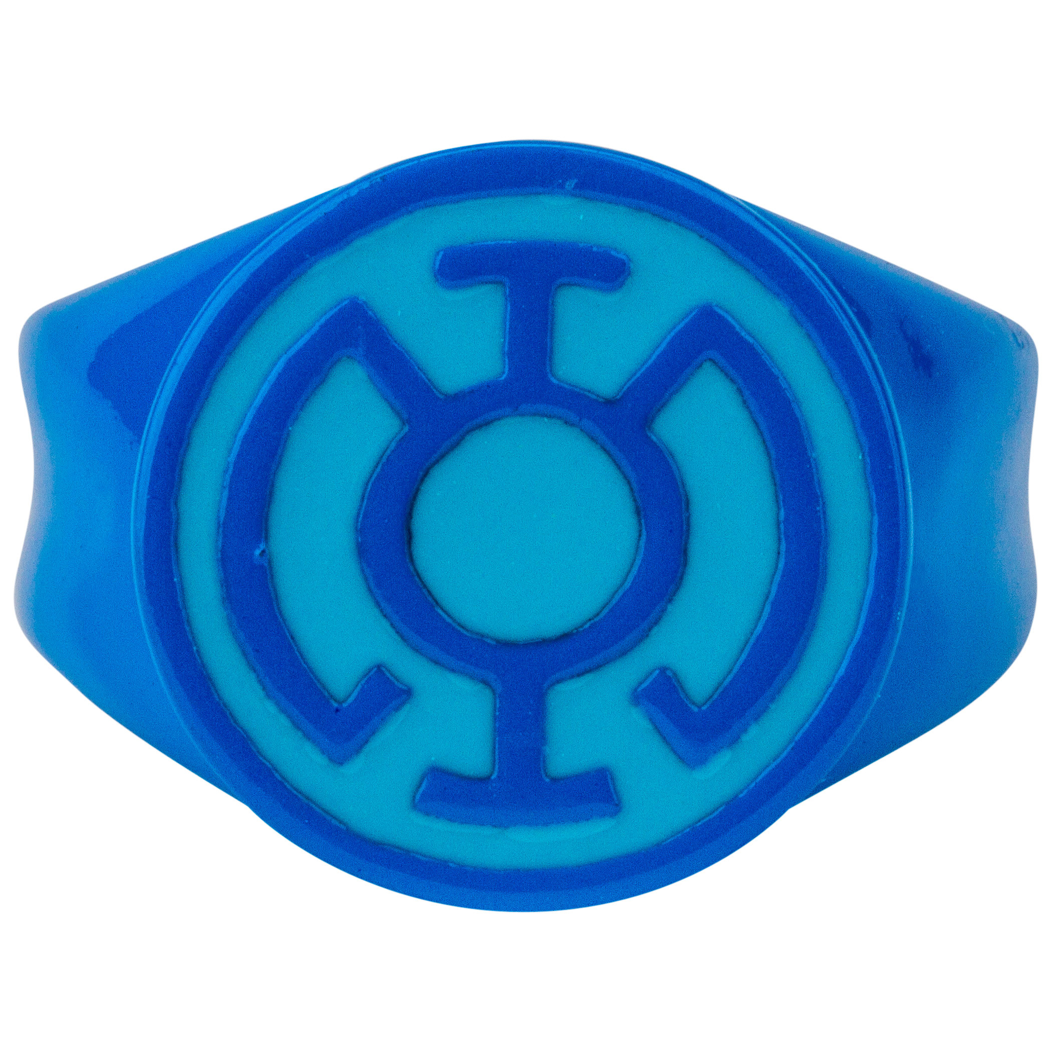Blue Lantern Blue on Blue Ring