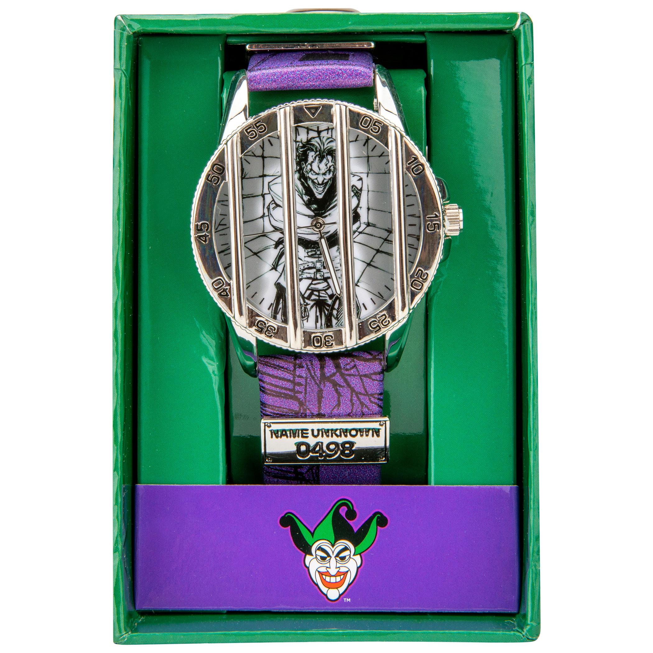 DC Comics Joker Caged Watch