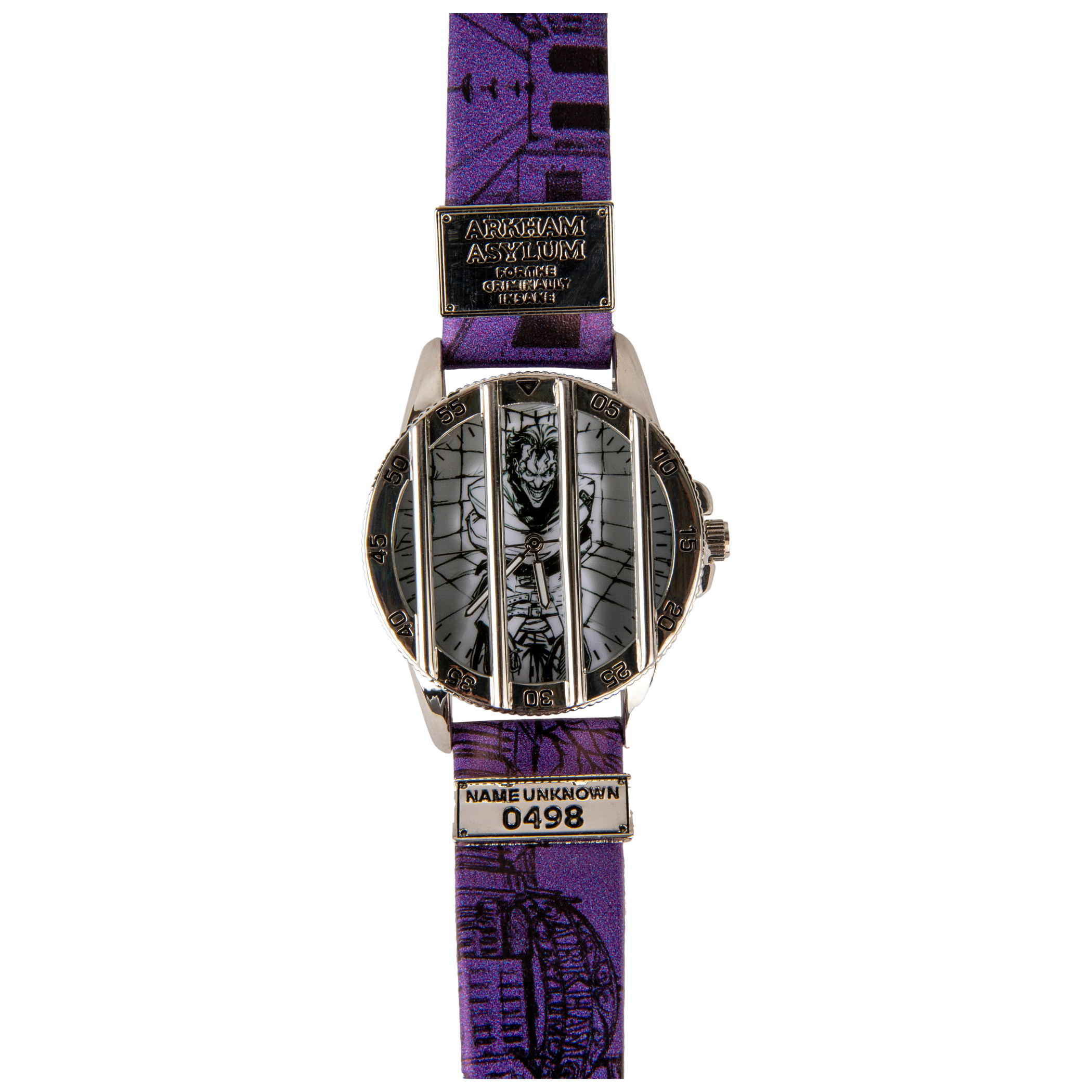 DC Comics Joker Caged Watch