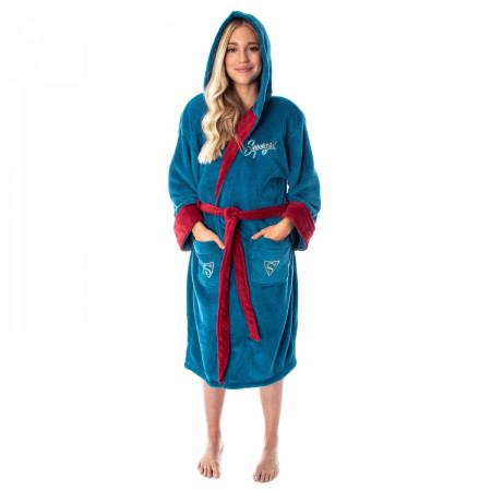 DC Comics Supergirl Bombshell Fleece Bathrobe