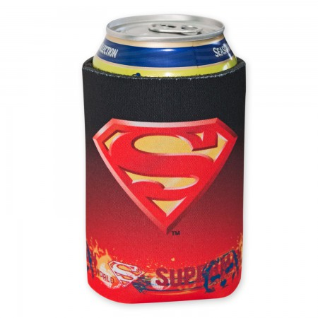 DC Superman Determination Can Cooler
