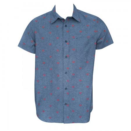 Superman Woven Button Down Shirt