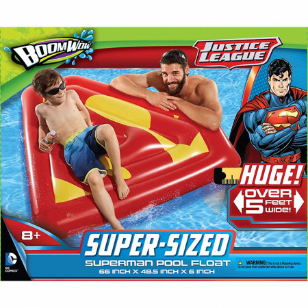 Superman Inflatable Pool Float
