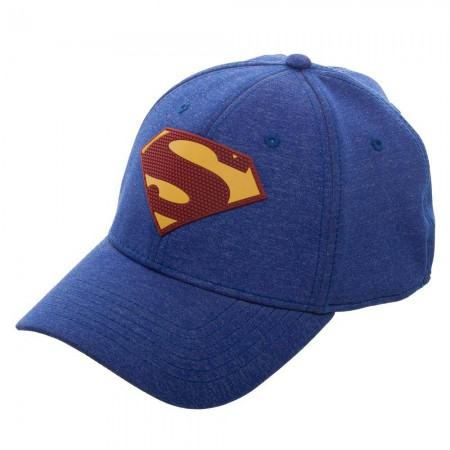Superman Blue New 52 Flex Fit Hat
