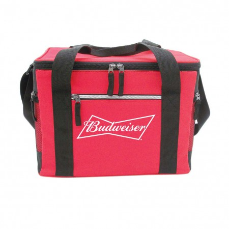 Budweiser Red Beer Can Cooler Bag