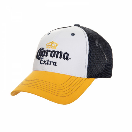 Corona Extra Crown Symbol Mesh Trucker Hat