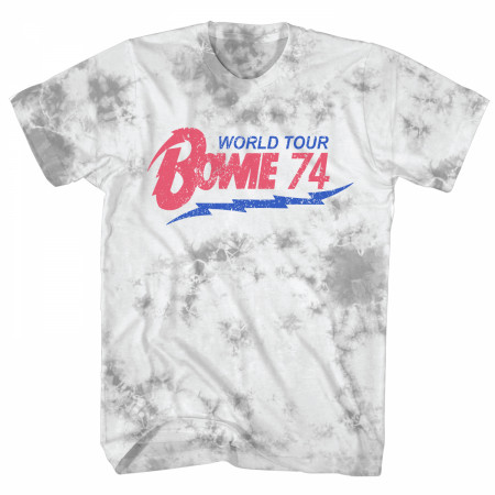 Bowie World Tour 74 Tie Dyed T-Shirt