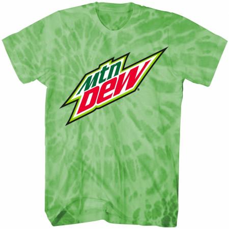 Mountain Dew Symbol Mineral Wash T-Shirt