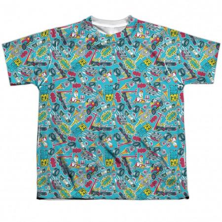 Teen Titans Go! Pattern Youth Tshirt