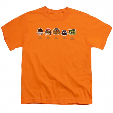 Teen Titans Go! Floating Heads Youth Tshirt