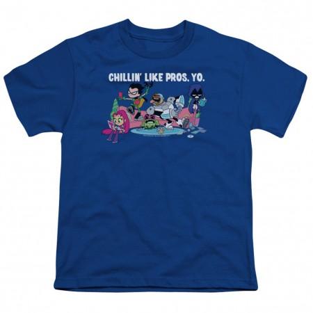 Teen Titans Go! Like Pros Yo Youth Tshirt
