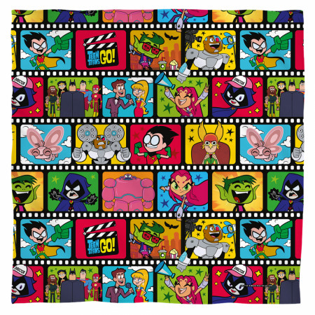 Teen Titans Cartoon Film Reel Bandana