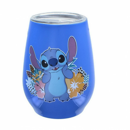 Lilo and Stitch 10 Ounce Stainless Steel Tumbler With Lid
