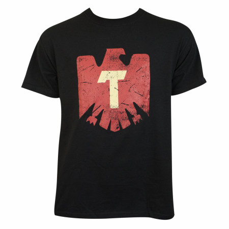 Tecate Men's Black Eagle Logo T-Shirt