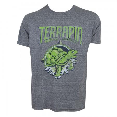 Terrapin Men's Green Turtle Logo T-Shirt